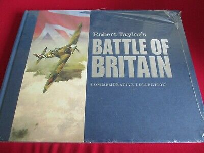 Robert Taylor's Battle Of Britain Commemorative Collection Hb Book  - New Sealed