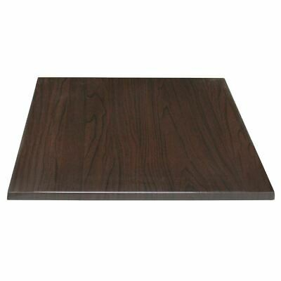 Bolero Square Table Top Dark Brown 700mm Indoors