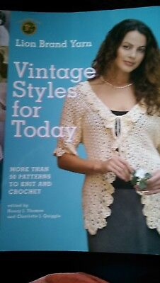 Lion Brand Yarn Vintage Styles for Today  50 Patterns to Knit and Croc