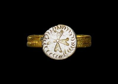 Aphrodite- Ancient Romano-British Gold Signet Ring