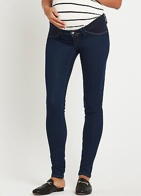 Mavi - Reina Shaded Rinse Gold Lux Move Skinny Maternity Pregnancy Jeans
