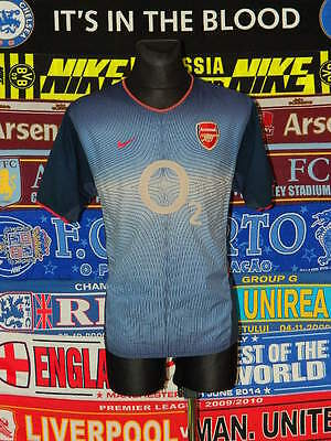 9aa1f2ee7 4 5 Arsenal adults L 2002 away football shirt jersey trikot soccer .