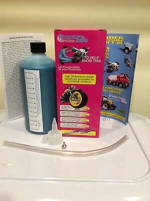 Puncturesafe Tyre puncture preventative sealant Ultraseal 11% More FREE POSTAGE