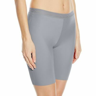 058caf4feb38 VASSARETTE Women's Invisibly Smooth Slip Short Panty 12385 Feather Grey