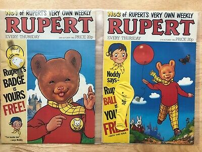 RUPERT WEEKLY Comic Collection  - Issues 1 to 56 and 58 to 100