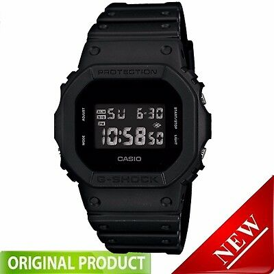 DW5600BB-1  Casio G Shock Special  Watch Limited Import Solid Color Basic Black