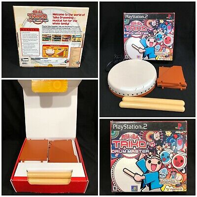 Sony Playstation 2 PS2 Taiko Drum Master DRUM ONLY UNTESTED