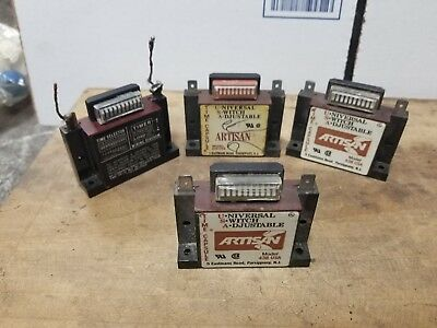 Artisan model 438USA solid state timers quantity of 4