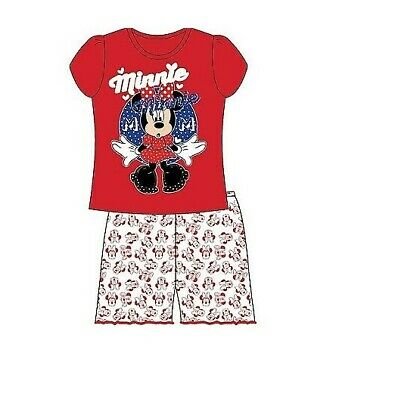 Minnie Mouse Short Pyjamas - Ages 2-3, 4-5 & 5-6 years