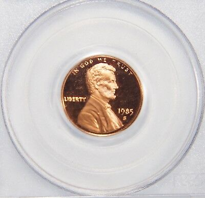 1985-S San Francisco Mint Lincoln Memorial Cent PCGS Grade PR69 DCAM 1c Copper