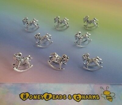 ❤ Pack of 6 ❤ CRAFTING//JEWELLERY ❤ COMBINED P /& P ❤ ❤ Zebra Charms Larger