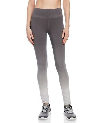 9e4408a8173f92 90 Degree By Reflex Women's Gray Dip-dye Athletic Leggings Yoga Pants Sz XL  NWT