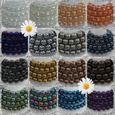 ❤ Glass Beads ❤ Bubble Beads ❤ Sizes 6mm - 12mm ❤ PROMO - SEE ITEM DESCRIPTION ❤