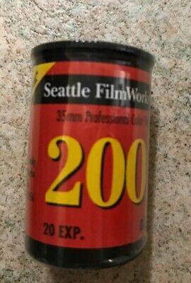 Seattle Film Works 35mm 200 Speed Roll of Film (c1) 20 Exposure NEW