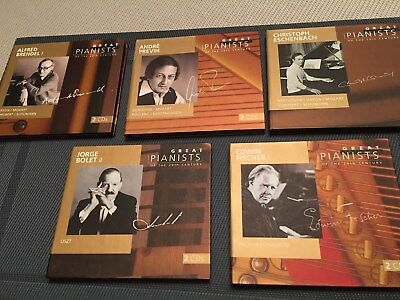 Great pianists of the 20th century . Collection complète .  100 CD. Etat neuf