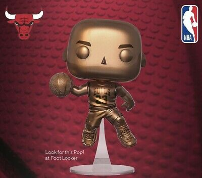 MICHAEL JORDAN FOOT LOCKER BRONZE EXCLUSIVE - Funko Pop! NBA #54 Pre-Order