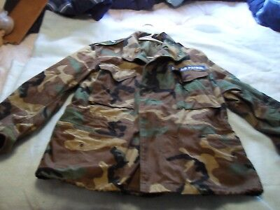 Military Coat Woodland Cold Weather Field Tennessee Civil Air Medium X-Short