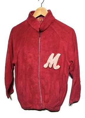 45Rpm Made In Japan Red Color Full Zipped Knitwear Sweaters Sweatshirts 45 Rpm