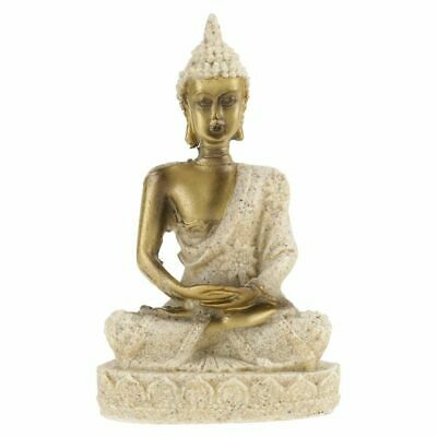 Thai Buddha Statue Meditating Peace Harmony Sculpture Hindu Fengshui Home Decor