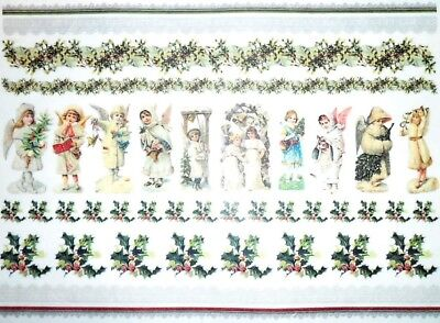 Rice paper for Decoupage Scrapbooking Sheet Angel Musicians 01