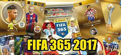 PANINI FIFA 365 ADRENALYN XL 2017 POWER-UP MULTIPLE FANS Winners rare  card
