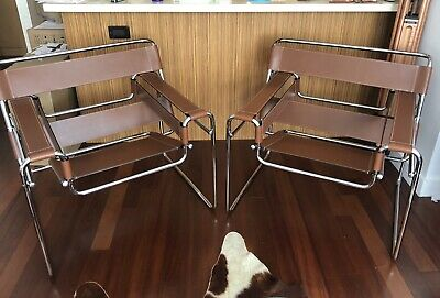 Two Restored Wassily Chairs