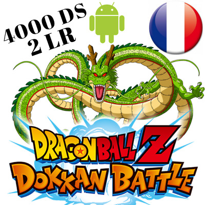 5 avis = 1 compte offert 💥Dokkan Battle GLOBAL Android 💥 2 LR + 3500DS mini FR