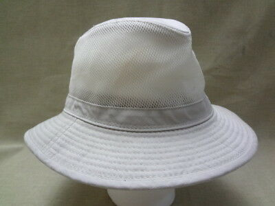 c9649b53b718e STETSON OUTDOOR MEN S No Fly Zone Tan Mesh Outback Hat - Size L ...