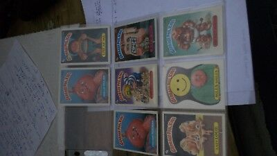 Garbage Pail Kids Over 100 Cards 18 Pages Garbage Pail Kids Collector Cards Lot