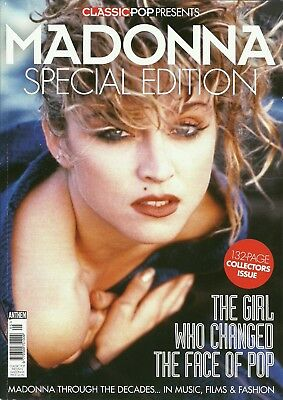 Classic Pop Presents MADONNA SPECIAL EDITION magazine 132 pages collectors issue