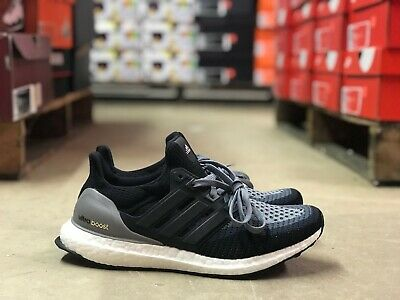 0b3a96edc1b Adidas Ultra Boost Womens Core Black Grey White Running Shoes AF5141 NEW  All Szs