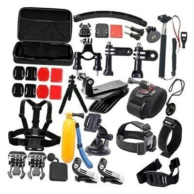New Action Camera Bundle Set 50 in 1 Accessories Kit for GoPro Hero 6 5 4 3 2 1