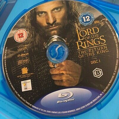 The Lord Of The Rings The Return Of The King [Blu-Ray] UK Region B DISC ONLY