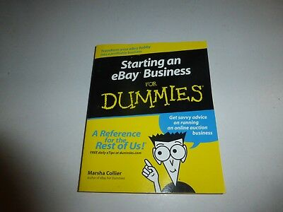 Ebay For Dummies Starting An Ebay Business Books By Marsha Collier 12 00 Picclick