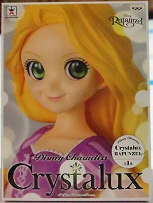 Disney Characters Crystalux RAPUNZEL figure new banpresto