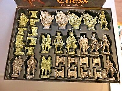 Pirates of The Caribbean Chess Collector's Edition Dead Man's Chest PIECES ONLY