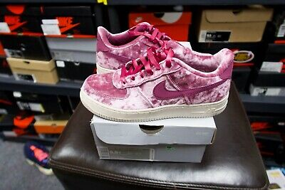 NIKE AIR FORCE One Velvet Size 5.5 Gs Retro Authentic Rare