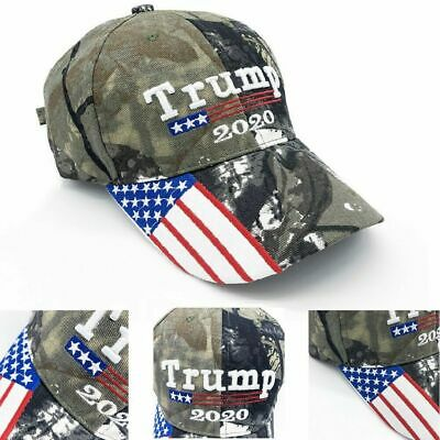 President Donald Trump 2020 Cap Flag Baseball Make Great Camouflage Hat  CA vi
