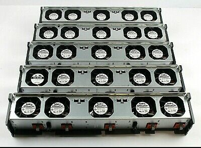 Dell PowerEdge R710 Server 5 Fan Assembly DP/N GY080 (Lot of 5)