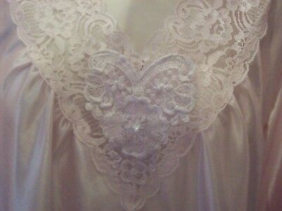 Vintage Ladies Baby Pink Night Gown   #220