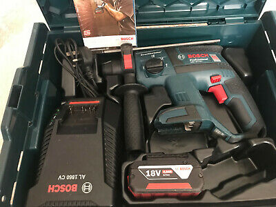 BOSCH GBH 18 V-EC SDS plus 3 function hammer drill