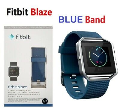 Fitbit Blaze FB502 Smart Fitness Watch Smartwatch Activity Tracker Blue Small #2