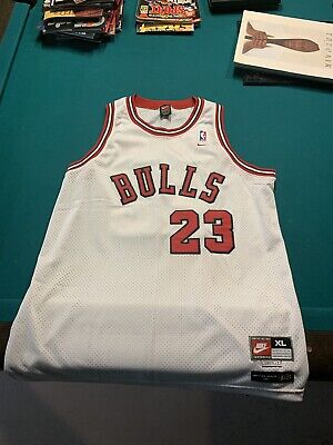 timeless design 6b193 9bae5 NIKE MICHAEL JORDAN 1984 Chicago Bulls Jersey Black Flight ...