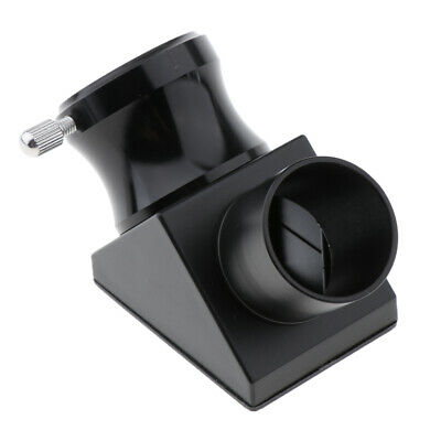 1.25'' 90 Degree Telescope Diagonal Mirror Eyepiece Diagonal Adapter Prism