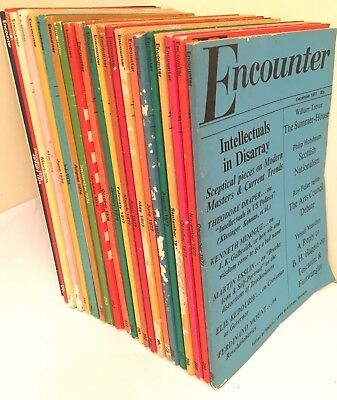 Vintage Encounter Magazine x22 Job Lot 1970s Melvin J Lasky Anthony Thwaite