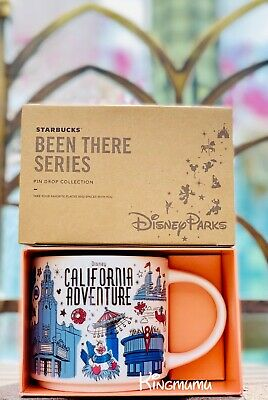Starbucks Disney California Adventure BEEN THERE Mug Mickey Cars Land Attraction