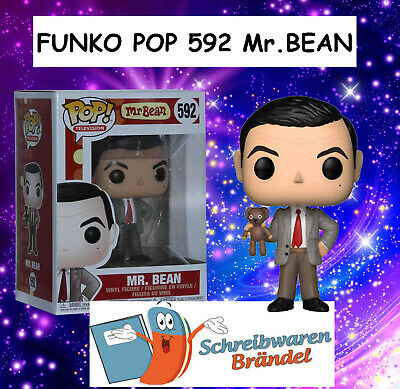 Funko Pop Vinyl Figur - Television Mr. Bean Funko Pop Figur - Serie 592 - BEAN