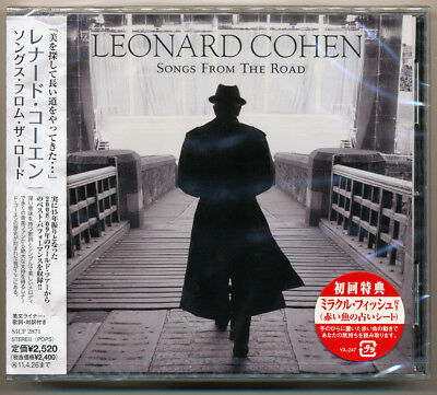 Leonard Cohen - Songs From The Road / Japan CD SICP-2871 / NEW! Still sealed!