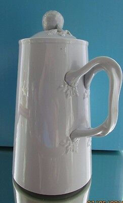 Spode Copeland New Stone Decorative Jug/Pitcher With Lid, Dove Grey, Vgc