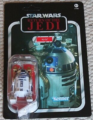"Star Wars Vc Vintage Collection 3.75"" Figure Moc Vc25 R2D2 Jedi"